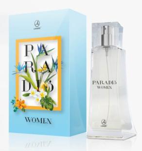 PARADIS WOMENЦветочно-цитрусовая композиция для женщин наполнена безукоризненной свежестью и природной женской силой.